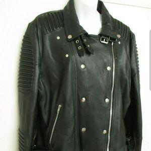 Genuine Lambskin Women's Moto jacket